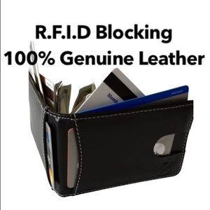 Other - RFID Blocking, 100% Genuine Leather Wallet